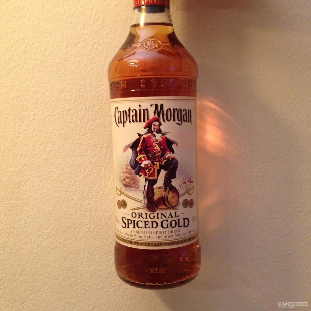 少战梗的摩根船长金朗姆 在调制中加入了辣椒等香料 富含拉美的热情