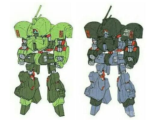 当然,更多的装备数量意味着有更高几率被AEUG\卡拉巴缴获。大部分缴获的NRX-044涂装为了AEUG的MS常见配色样式。