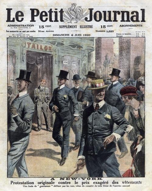 """1920年也被美国人称为""""旧时光""""时代,这是美国最为保守的时代。"""
