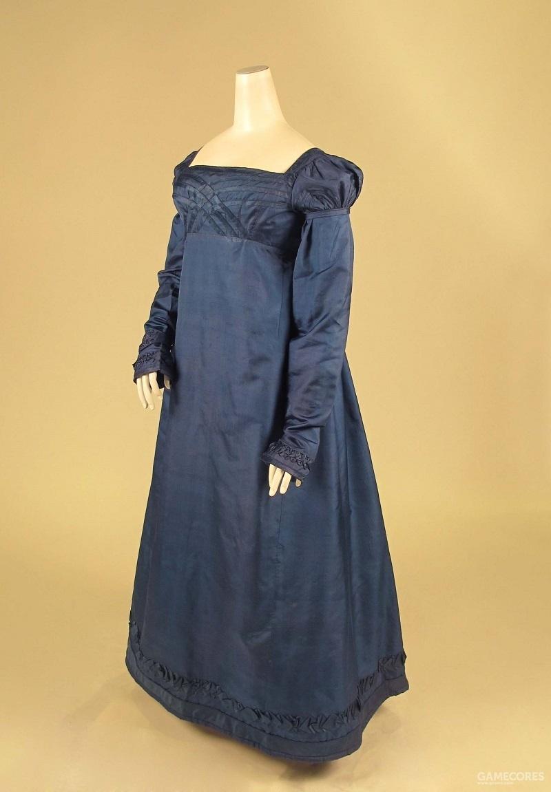 Dress, c 1818 (MET)