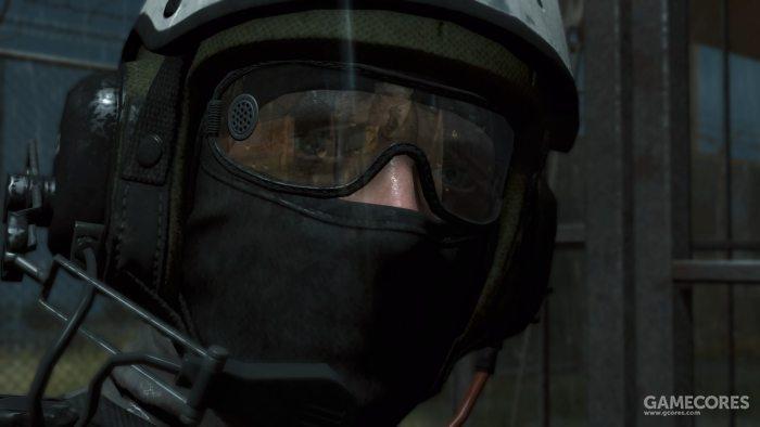 《原爆点》中XOF士兵佩戴的护目镜。当时第一次看到这段时不由得感慨军设顾问实在太懂了