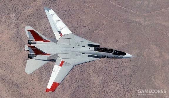 美国军方不少飞机都会借给NASA测试,F-14也不例外