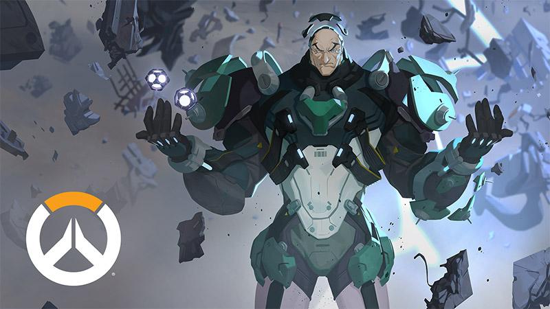 """[更新技能介紹]《守望先鋒》第31位英雄:活體兵器""""西格瑪"""""""