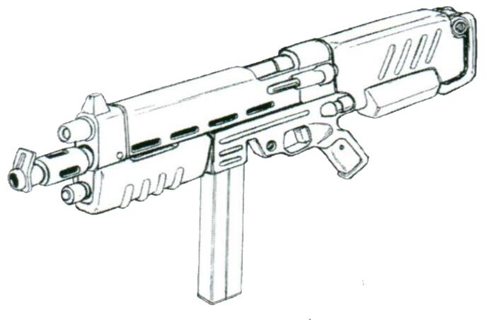 常见的各种M-120系列120mm机枪逐步被MMP-80机枪替代。90MM枪管下方能加挂一枚197MM榴弹。初速更高的90MM弹药相比原有120MM弹药更加适应战争后期以MS间交战为主的形势。