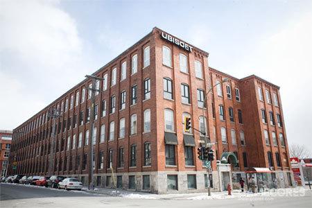 育碧蒙特利尔工作室,大概是剧中工作室大楼的原型(大概
