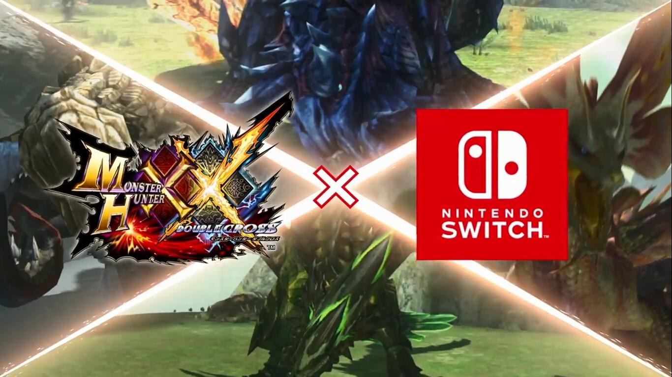《怪物獵人XX》NS版2017年8月25日正式發售!