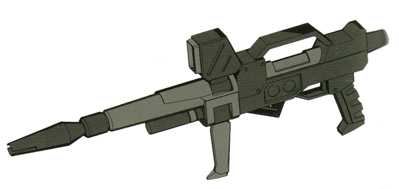 尽管RGM-79[G]的核融炉功率并不能达到RX系机体标准。但是依旧能通过解除功率限制等手段以一定性能损失为代价使用RX-79[G]标配的XBR-M-79E光束步枪。该武器一般配备给小队中队长机,负责及时提供精确的火力支援。