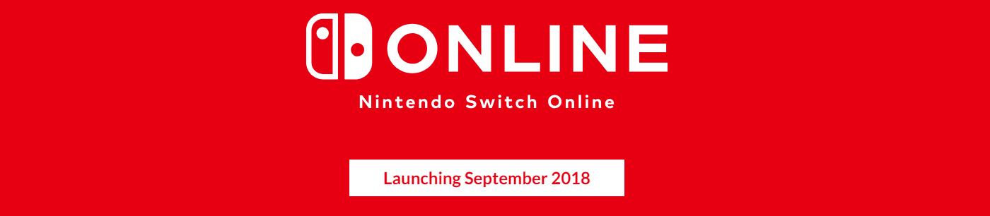 任天堂公布Nintendo Switch Online会员服务细节