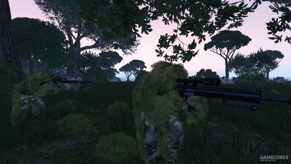 使用SPAR-17的狙击手