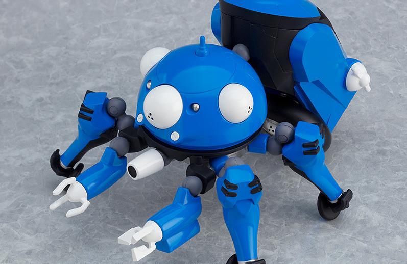 GSC粘土人系列《攻殻機動隊 SAC_2045》塔奇克马今年12月上市售价6,500日元
