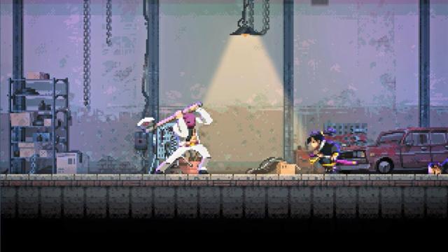 集黑色电影、子弹时间元素的2D动作游戏《Katana Zero》即将在今天解锁
