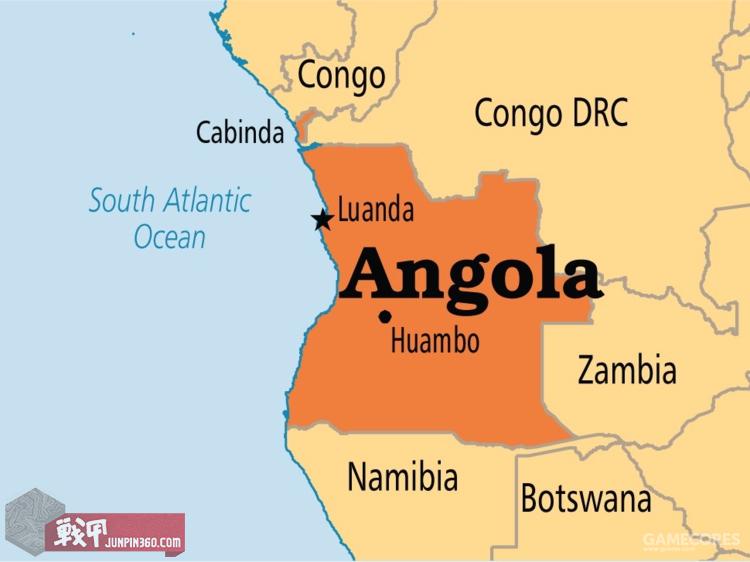 安哥拉周边地图