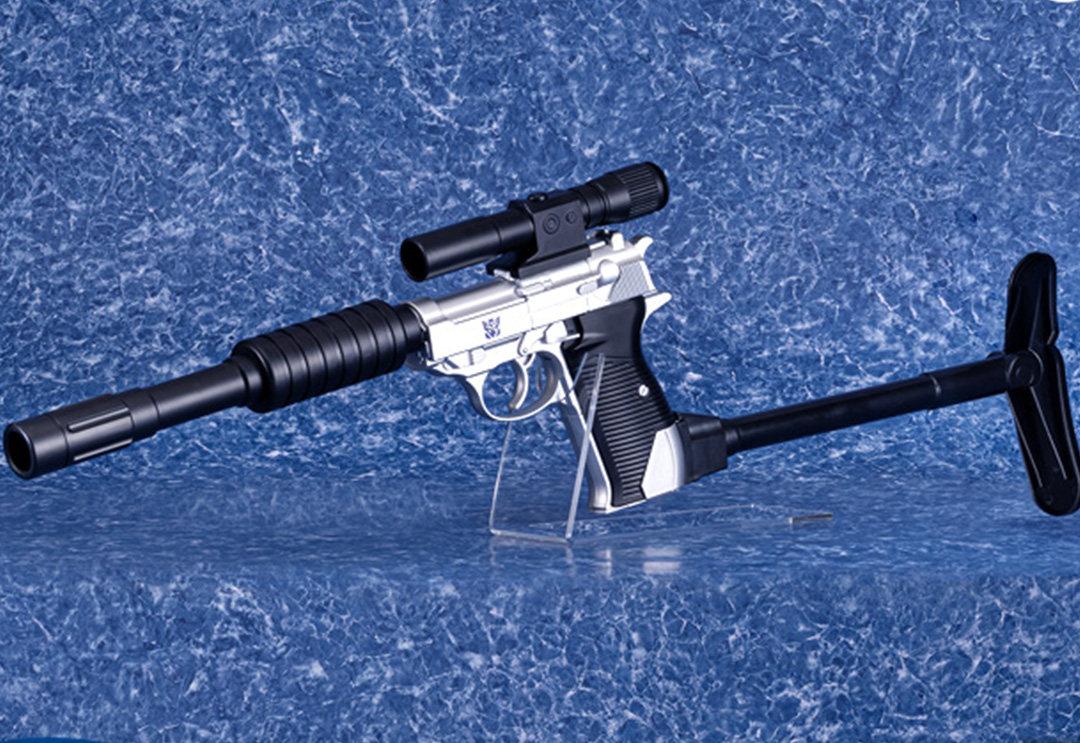 威震天水枪将于日本发售,从此世上又多了一款不能变形的变形金刚