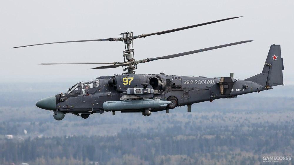 俄罗斯空军的卡-52,也出现在《武装突袭2》中