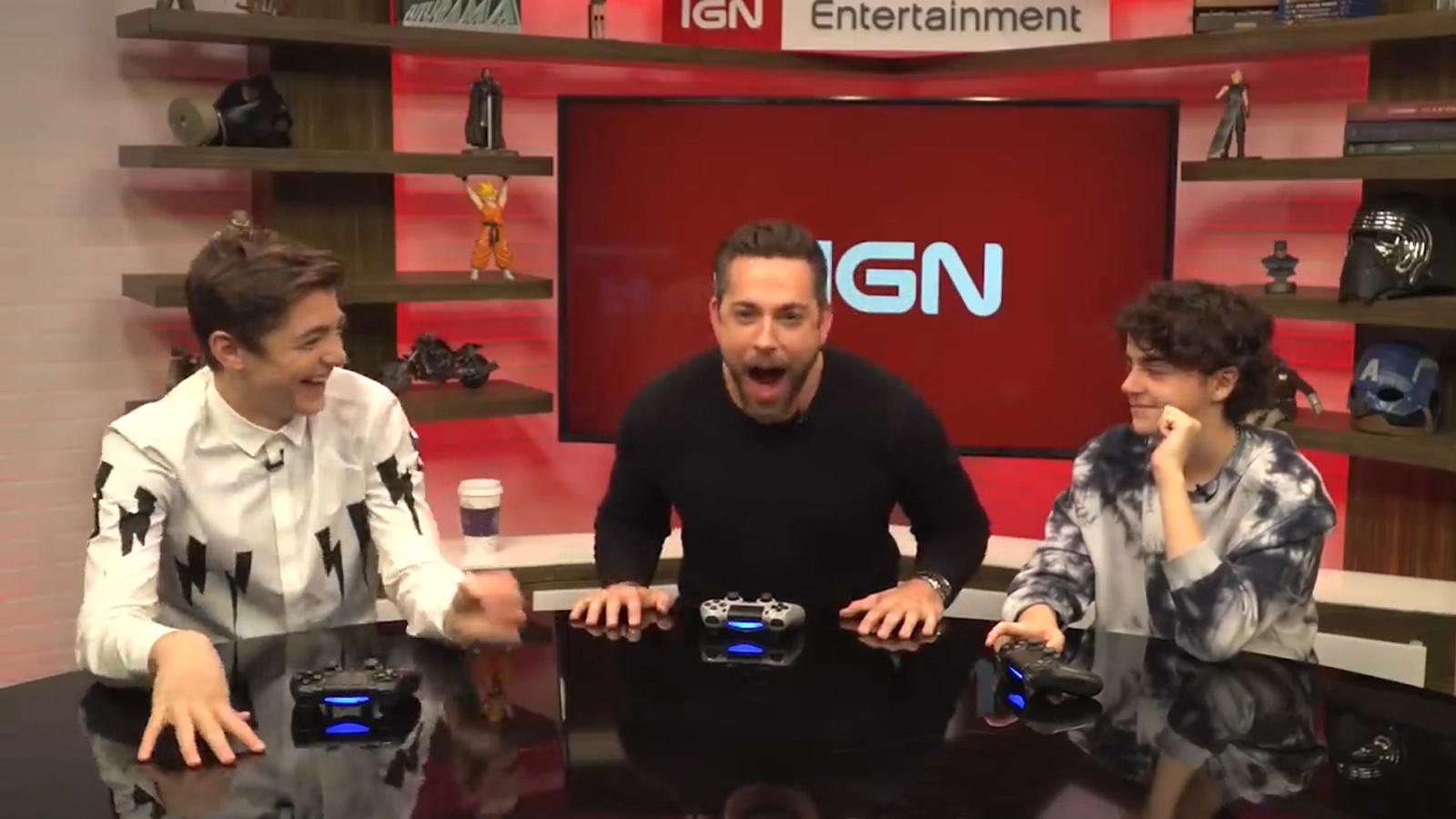 《雷霆沙贊!》獲高評價,三位主演被IGN請來玩《APEX 英雄》