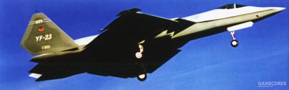 1990年10月26日,第二架YF-23在诺斯罗普另一位试飞员吉姆·桑德伯格(Jim Sandberg)的驾驶下完成了首飞。