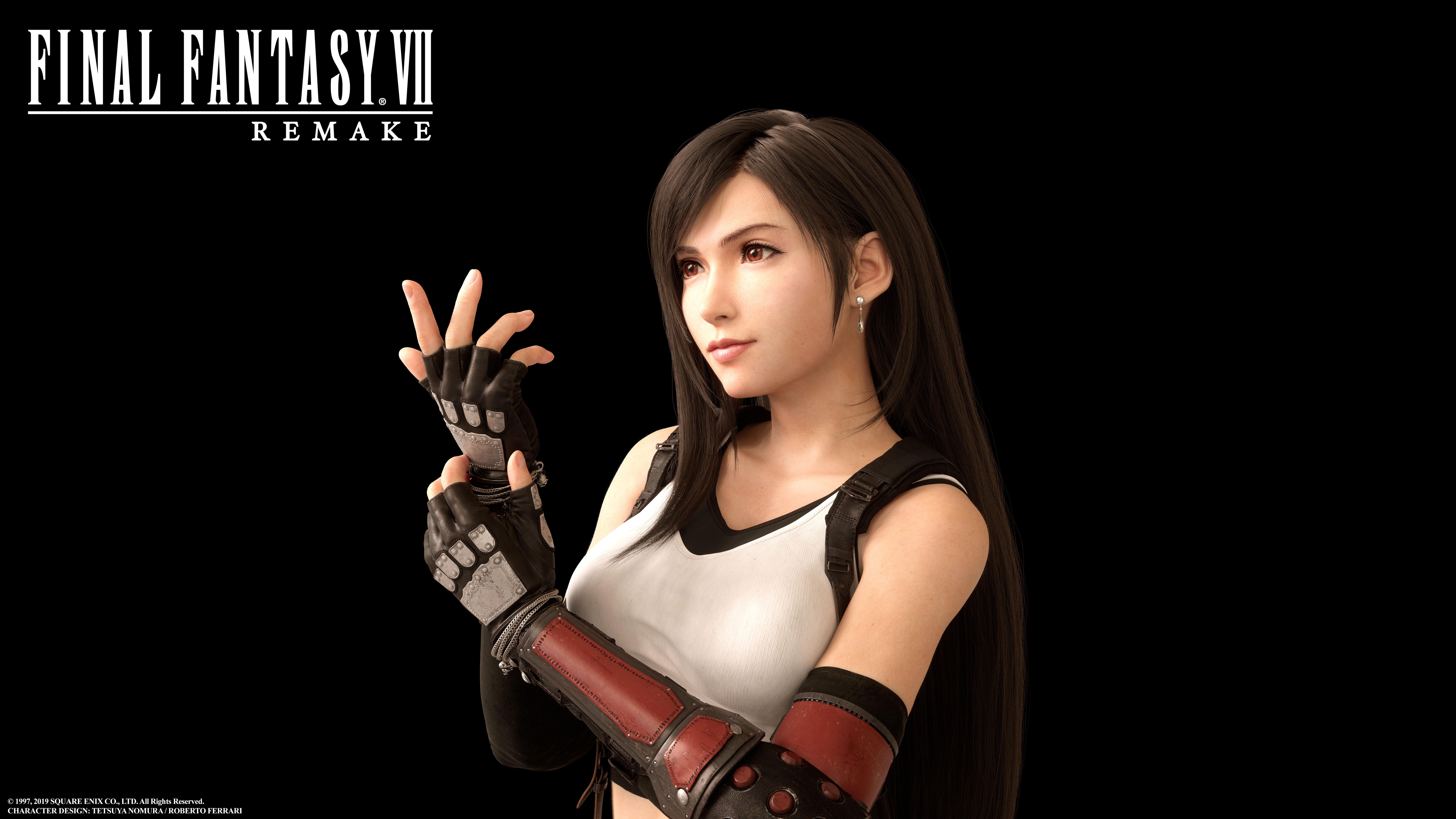 《最终幻想7 重制版》蒂法创作大量发生中,你觉得蒂法的新形象怎么样?
