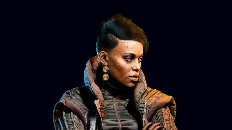 【更新完毕】CDPR放出《赛博朋克2077》巫毒帮老大 Brigitte 介绍