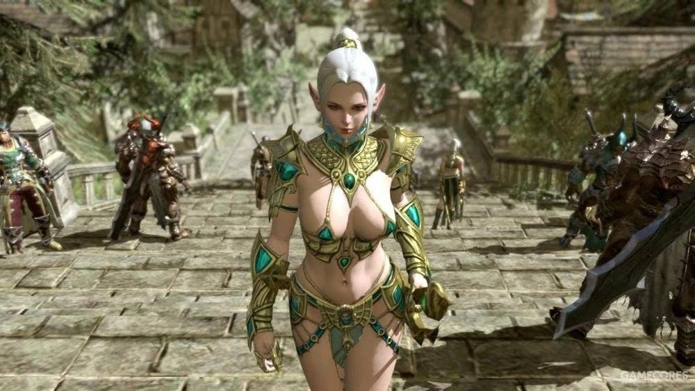 赤焰帝国II中的女性服饰,这种就完全不符合游戏所参考的历史背景了