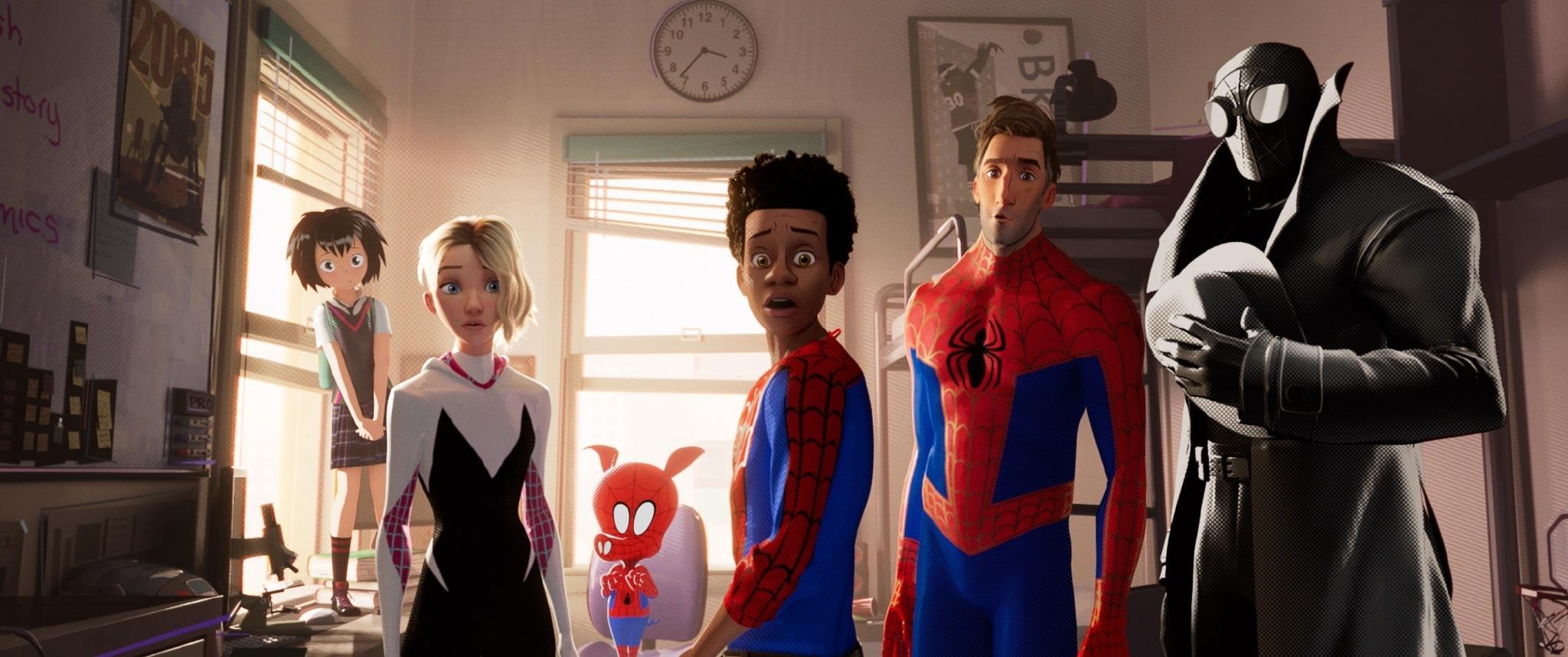 索尼《蜘蛛俠:平行宇宙》放出角色預告,六款蜘蛛俠請來認領下