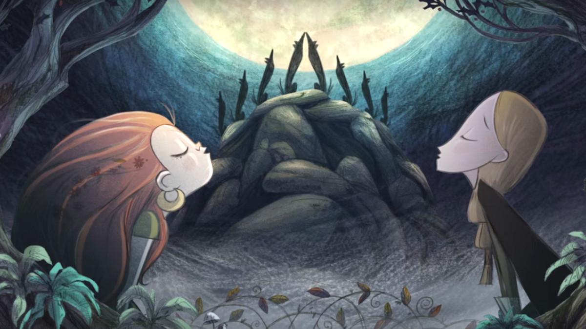 《海洋之歌》团队全新动画《狼行者》发布先导预告