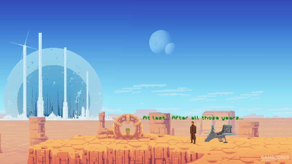 游戏的背景美术个人认为在像素美工里属于顶尖水平。