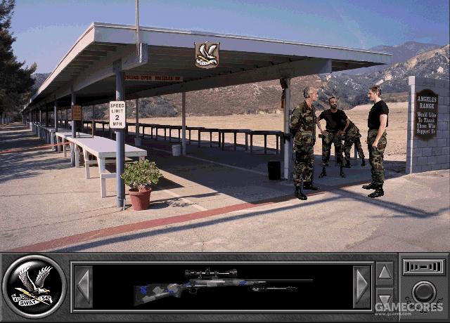 Police Quest SWAT 游戏画面