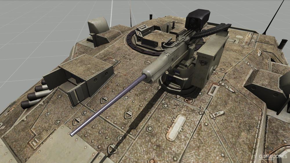 12.7mm指挥官机枪