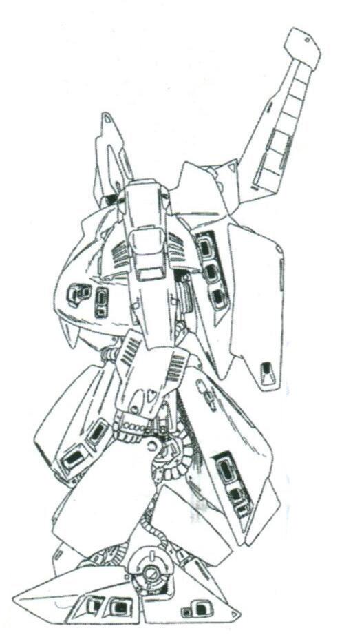 全机上下安装了多达50台推进器来满足机体的机动性要求。这使得该机的推进器推力达到了135400kg之高。整机推进系统设计更为接近MA的设计。而沉重的装甲组件也安装有推进器,可以在机体机动中作为机体姿态控制用组件。