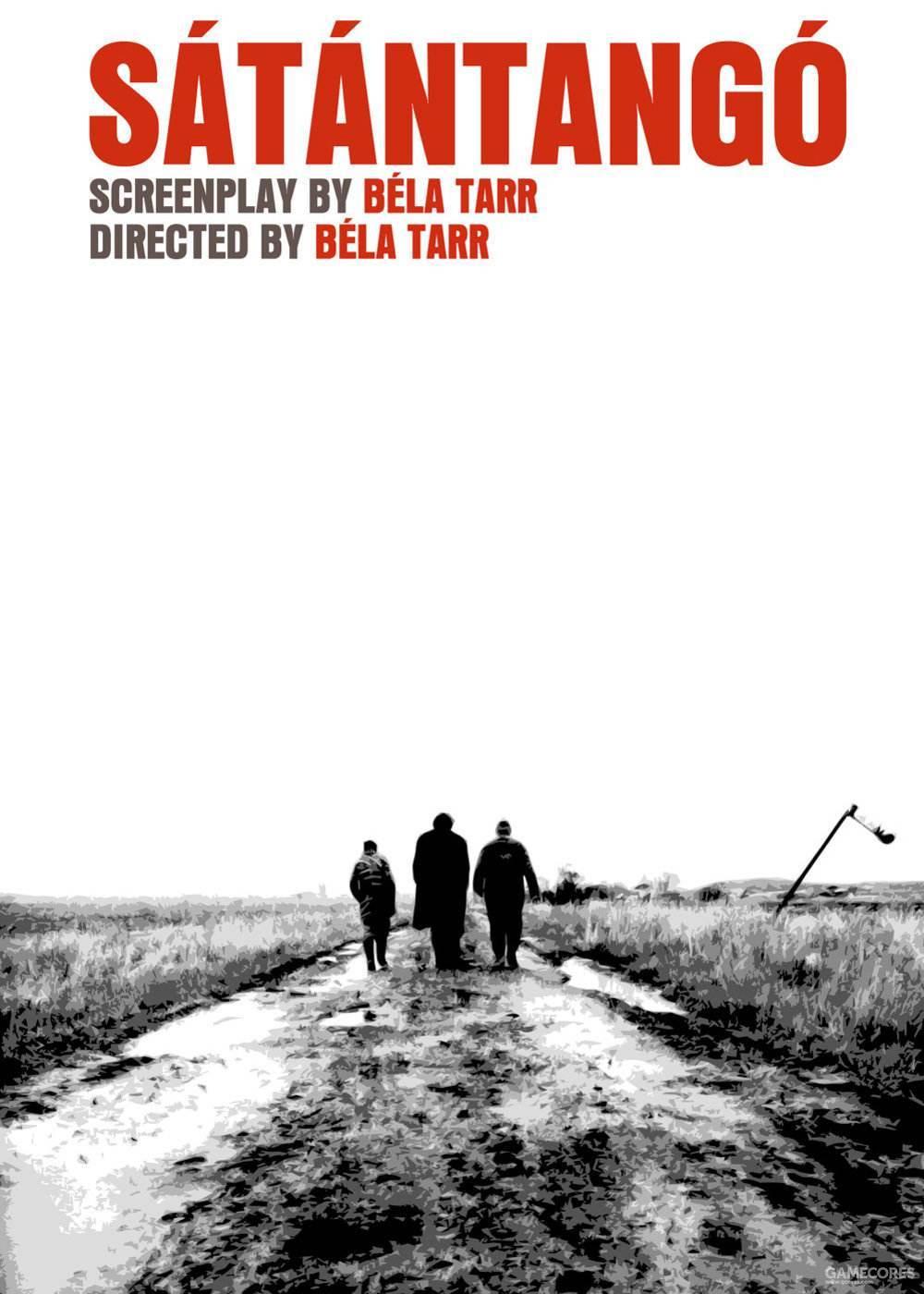 2.《撒旦探戈》(Sátántangó)、贝拉·塔尔、7小时18分的电影