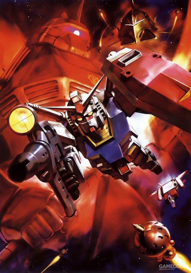 """传奇的Gundam除了作为一般意义上的战术兵器以外,在战后的宣传更是赋予了更多的政治意义。诸如""""白色恶魔""""之类的称呼也是在战后因为各种宣传才广为流传的。"""