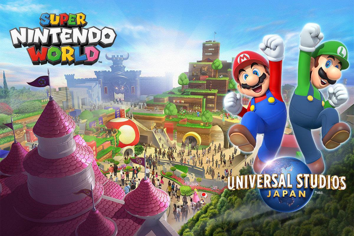"""日本环球影城""""超级任天堂世界""""区域宣布于2021年2月4日正式开放"""