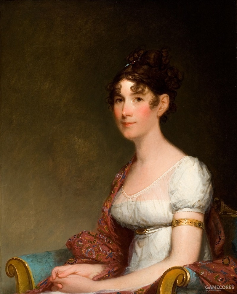 Anna Payne Cutts, sister of First Lady Dolley Madison by Gilbert Stuart, 1804
