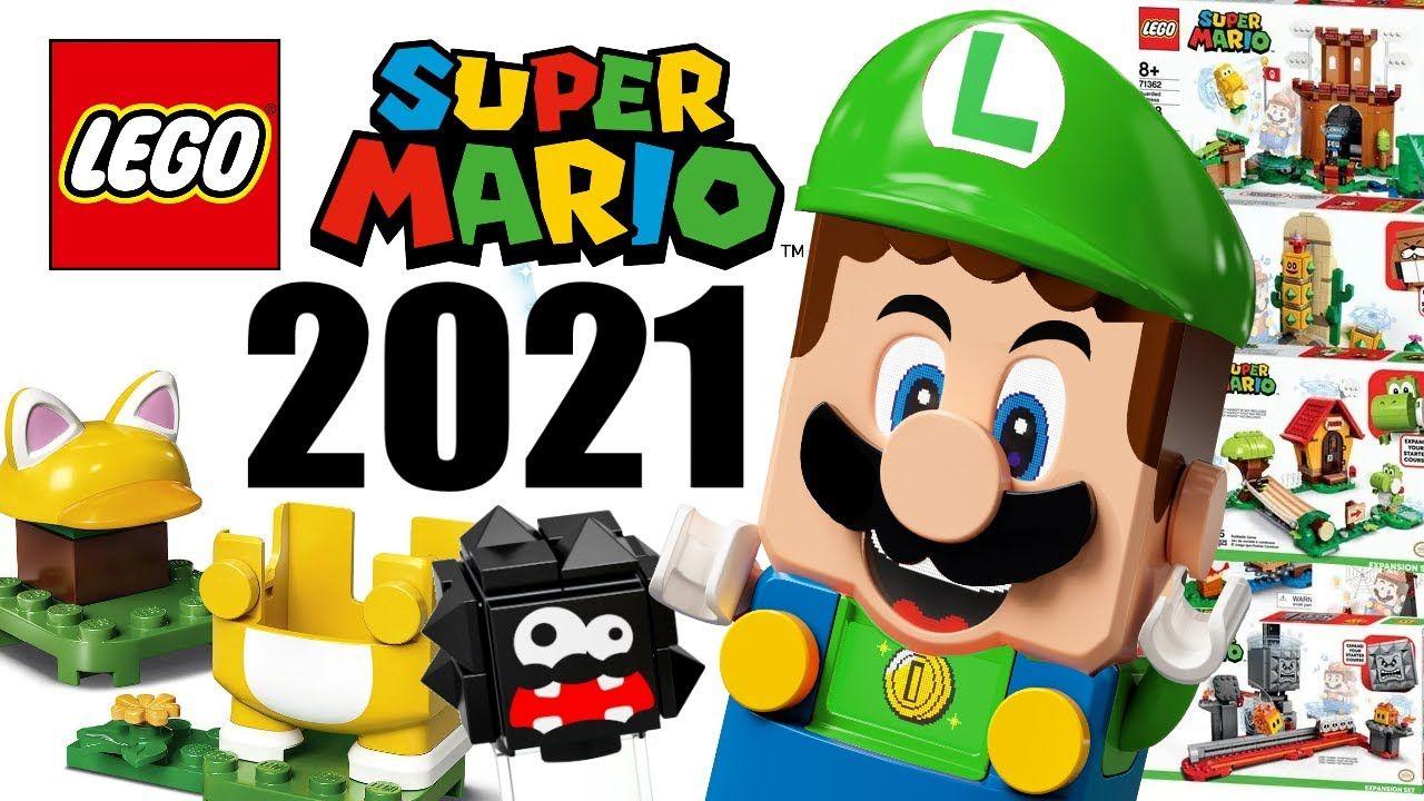 乐高宣布全新《超级马力欧》套组,将于2021将发售