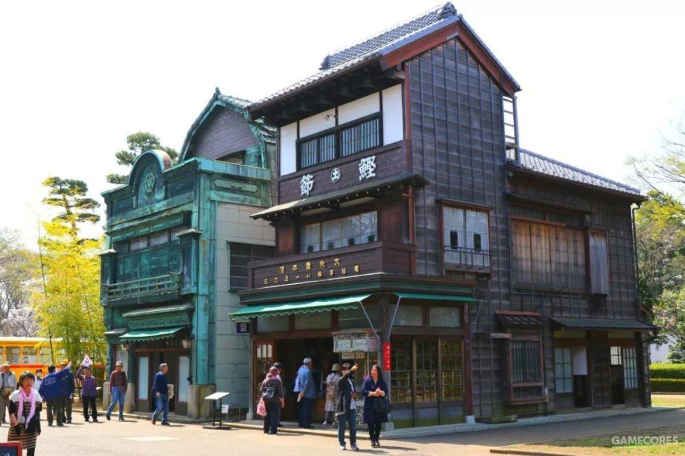 《千与千寻》的舞台设计参考了大量江户东京建筑物园的建筑