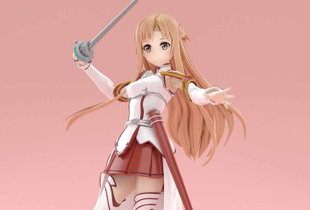 二層構造的大腿部件?Figure-rise Standard系列將推出《刀劍神域》亞絲娜