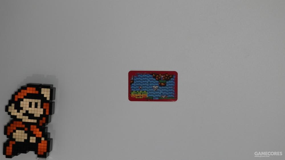 一张带编号的收藏卡