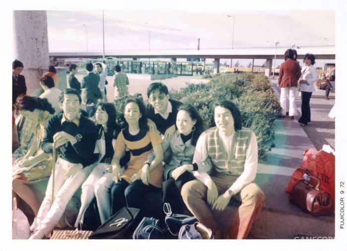 欧洲旅行中的襟川惠子