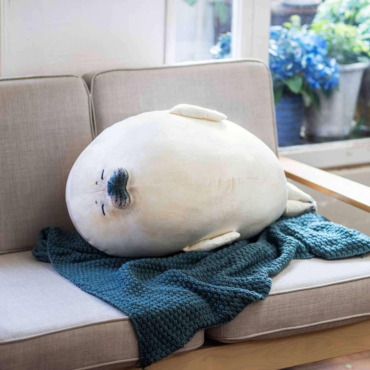 人见人爱的海豹又来了:芬理希梦推出斑海豹幼崽公仔