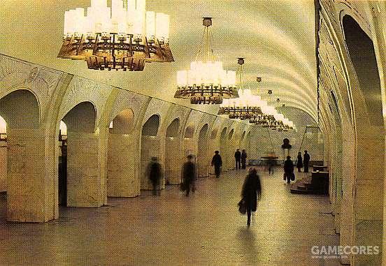 Пушкинская(普希金)站