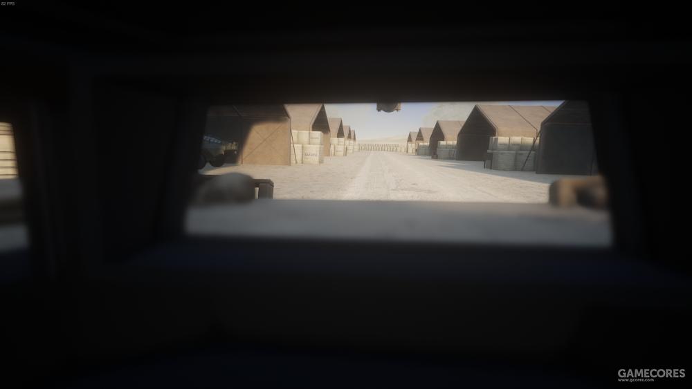 驾驶员视角