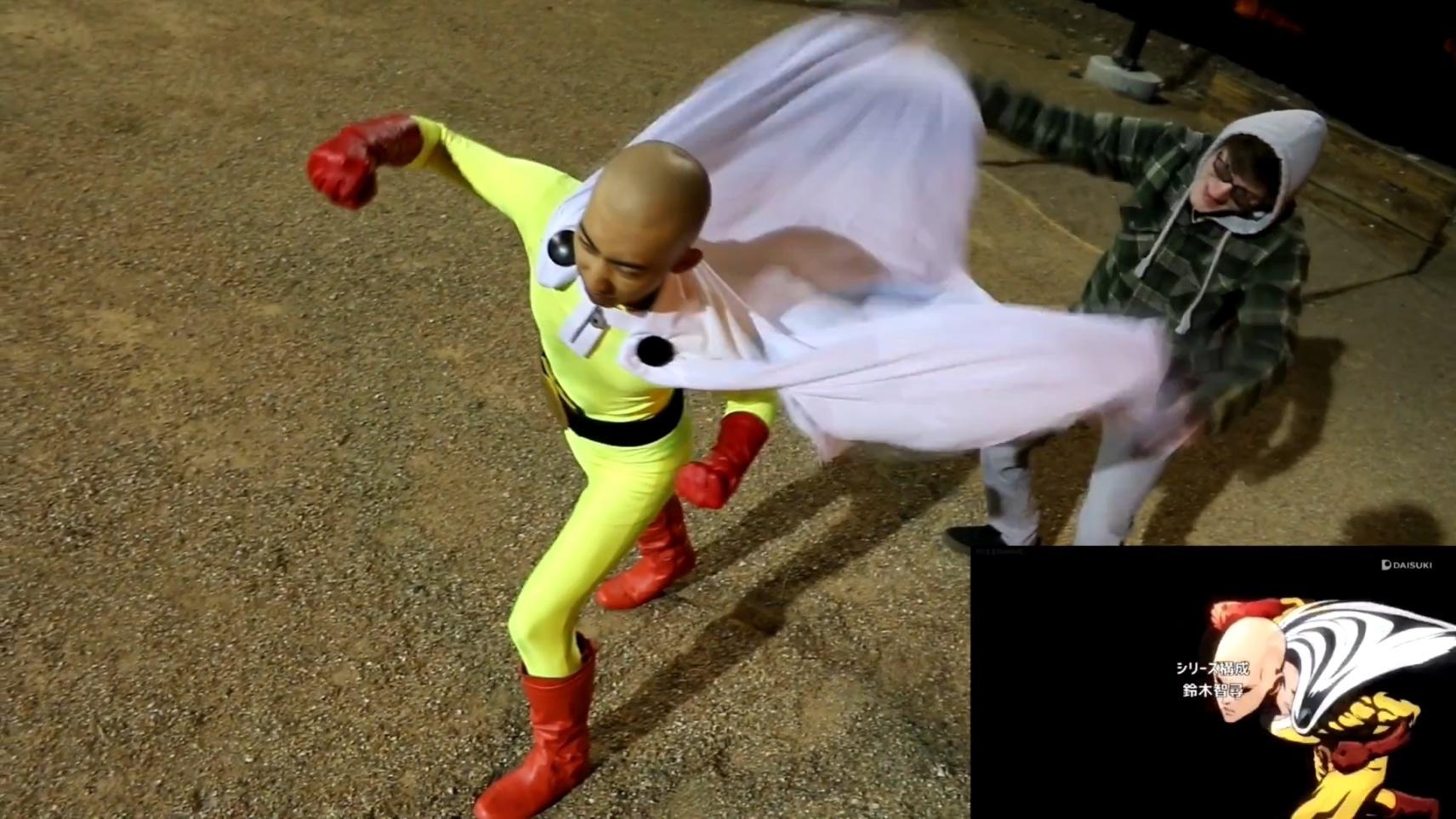 有人把《一拳超人》MV給COS了,我笑吐了
