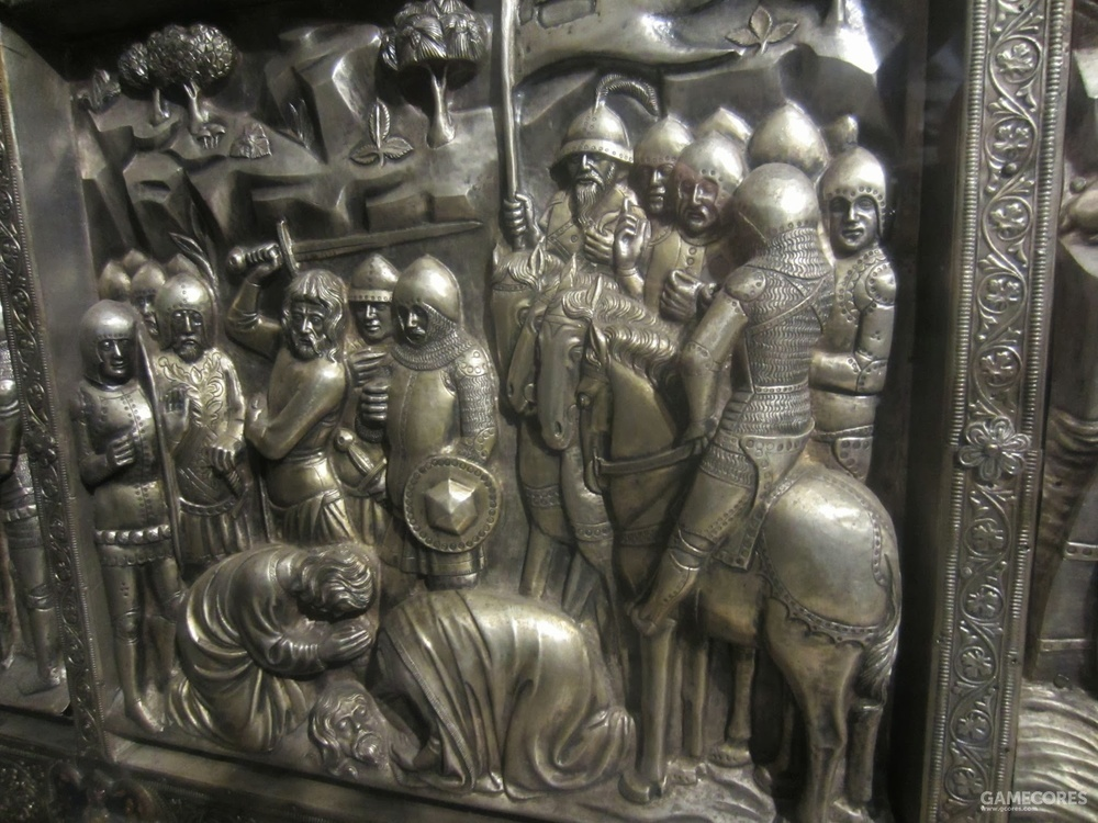 14thC Silver Altar of St Jacopo