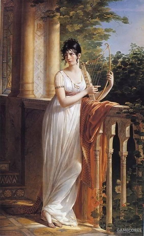 Portrait de Madame d'Arjuzon by René Théodore Berthon, c 1801