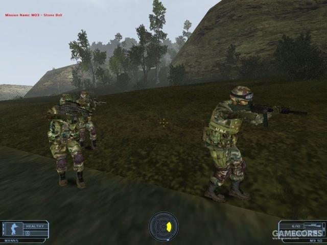 《幽灵行动》PC版UI