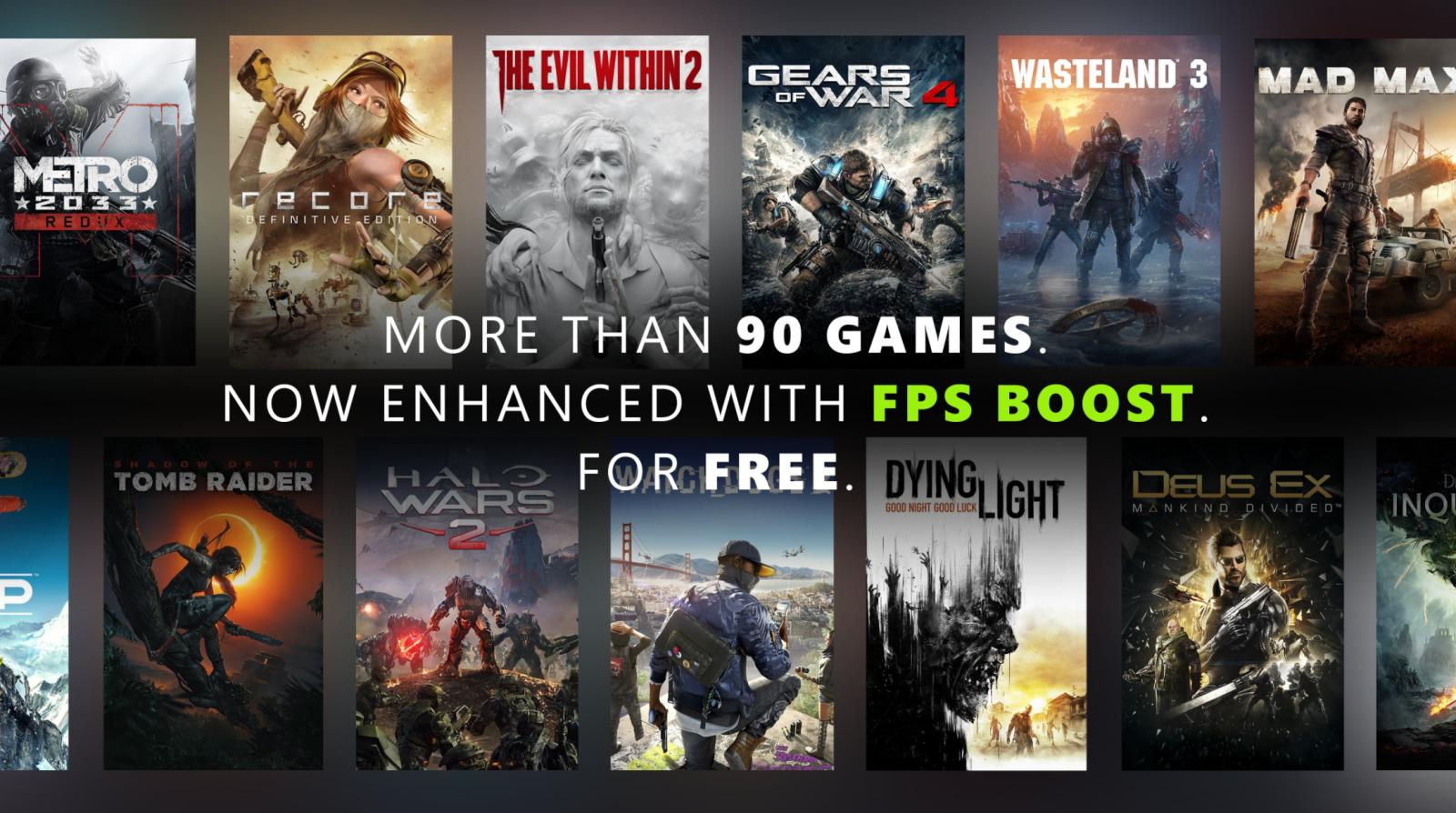 Xbox FPS Boost 游戏阵容大幅更新,现有97款游戏支持