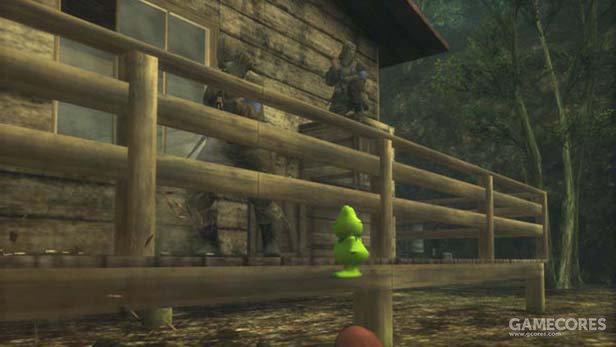 潜入/夺旗模式的目标物:青蛙铺满或者橡皮小鸭
