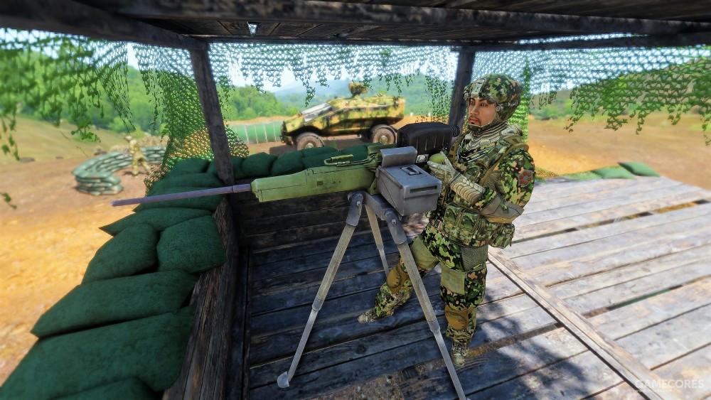 操作Mk30的步兵