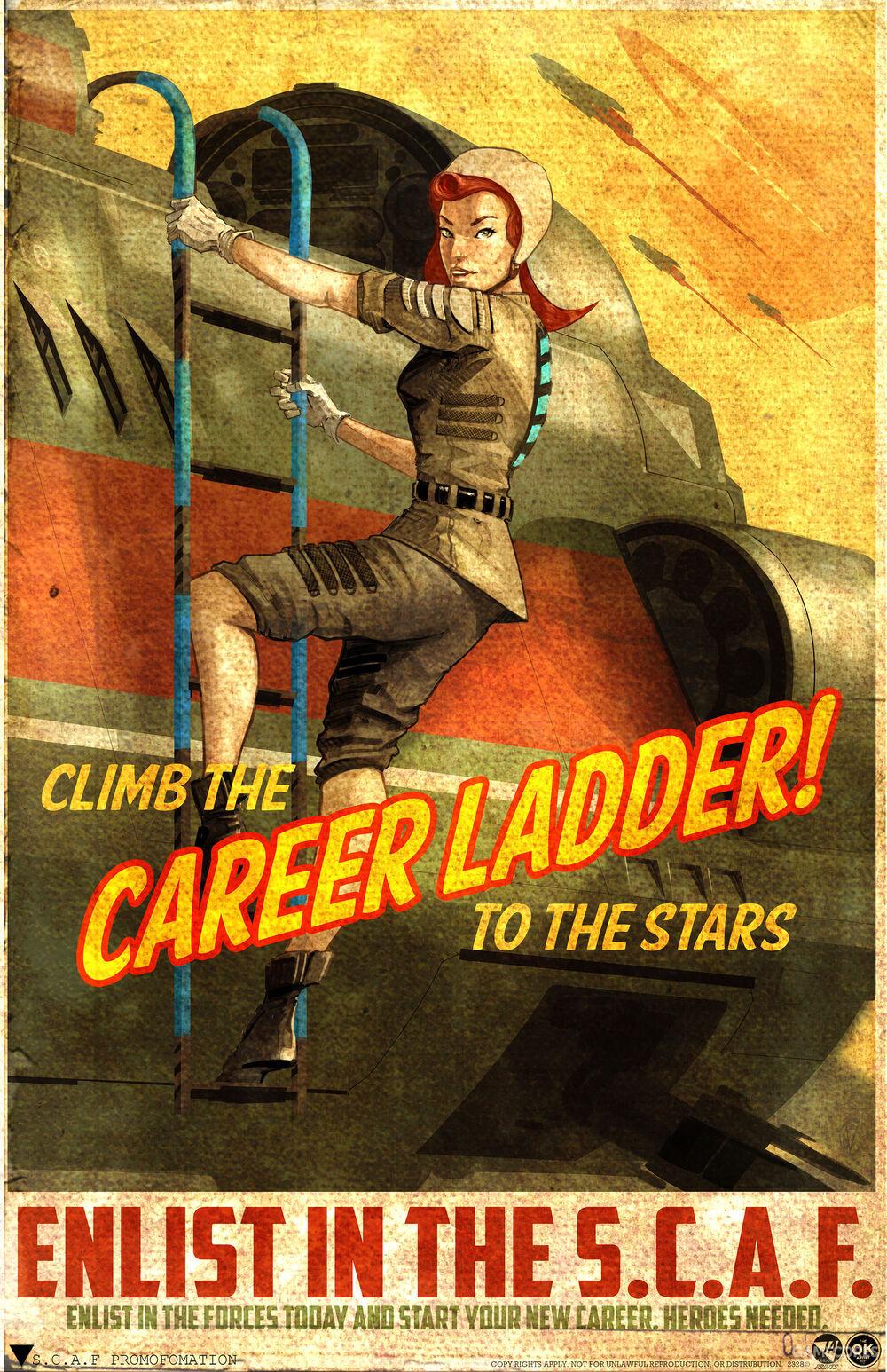 从攀梯到明星,加入联盟军队吧!