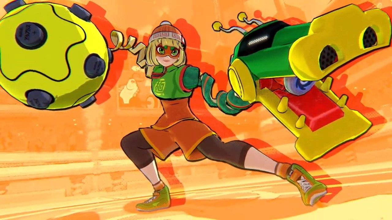 来自《ARMS》的面面加入《大乱斗》,新的Mii斗士包里有避难所小子!